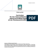 MBL 951213 - Curriculum ULG Advanced Drilling Engineering