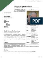 Joe Armstrong (Programmer)
