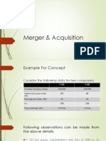 Merger Questions