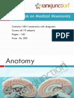 Mnemonics for Medical PGEntrance