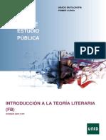 Introducción a La Teoría Literaria UNED