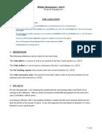 Written Assignment - Financial Management 003
