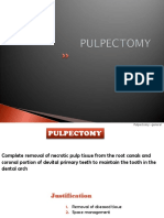 pulpectomy & Apexification