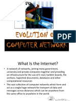 Evolution of Computer Network