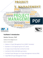 project quality mgmt