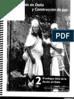 Acción Sin Daño - Ana luz Rodríguez Pérez