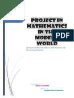 Math Shit Problem