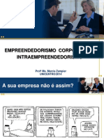 Empreendedorismo Corporativo Unicentro 2014 SLIDES