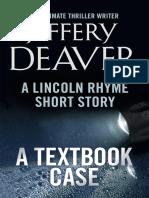 Jeffery Deaver - A Textbook Case (Lincoln Rhyme ss) - 2013.epub