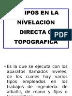 Diap. Equipos en Nivelacion Topografica