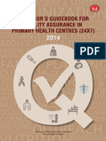 Assessor guidebook for quality assurance in Primary Health Centre.pdf