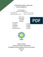 laporan kimia koordinasi