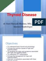 Thyroid UPR