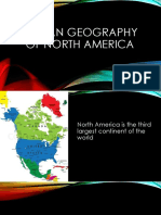 Human Geography of North America