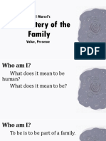 5.2.2. the Mystery of the Family (1)