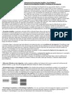 Resumen Metodología de La Investigación Científica Texto Módulo 1
