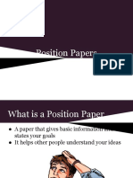 Position Paper Ito