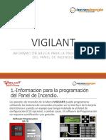NT-VIGILANT-Información Básica Para La Programación Del Panel de Incendio