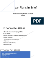 Five years plan