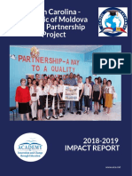 NC Moldova 2018-2019 School Partnership Report