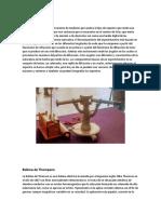 INFORME DE INSTRUMENTACIÓN FÍSICA