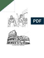 Dibujos Roma y Grecia1