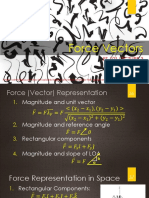 Supplementary Lecture (Force Vectors)