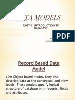 Record Based data model