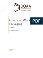Advanced Work Packaging Summary