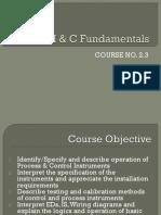 i&c Fundamentals