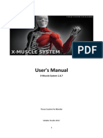 X Muscle+System+-+User%27s+Manual