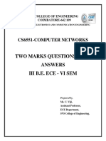 CS6551 CN