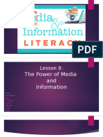 Lesson 8 the Power of Media and Information (1)