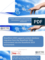 Migrate SharePoint 2016 To SharePoint 2019 Environment Using Content Database Migration