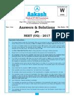 Aakash institute neet paper