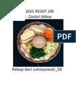 Rekap Jsr-resep Obat-obatan Herbal Dari Dr. Zaidul Akbar