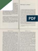 ZUMTHOR, P. Rhétorique Et Poétique, In Langue, Texte, Énigme (1975)