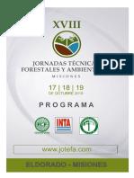 Programa JOTEFA 2019