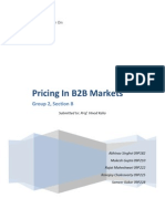 Pricing in B2B Markets_GroupB2