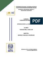 Práctica 1 - Documento Microsoft WordTarea
