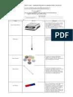 Familiarization of Lab Apparatuses