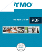 DYMO Range Guide