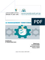 Le Management Territorial Durable (1)