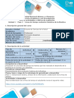 1-- Guía de Actividades y Rubrica de Evaluación - Paso 1 - Línea de Tiempo Evolución Histórica de La Bioética