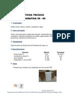 Ficha 16parafina