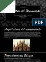 Expo Arquitectura Del Renacimiento