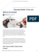 """Why You Can't """"Securely Delete"""" a File, And What to Do Instead"""