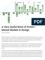 A Very Useful Work of Fiction – Mental Models in Design _ Interaction Design Foundation