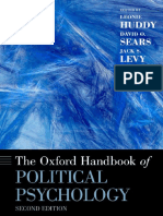 The oxford handbook of politican psychology