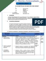 EJEMPLO DE PROGRAMACIÓN DE UNIDAD -MATEMATICA SEGUNDO DE SECUNDARIA